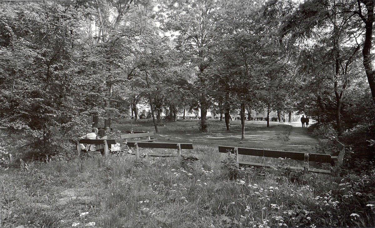 Karlachovy sady na Vyšehradě v roce 1975