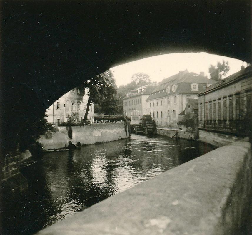Čertovka, Kampa, 1941