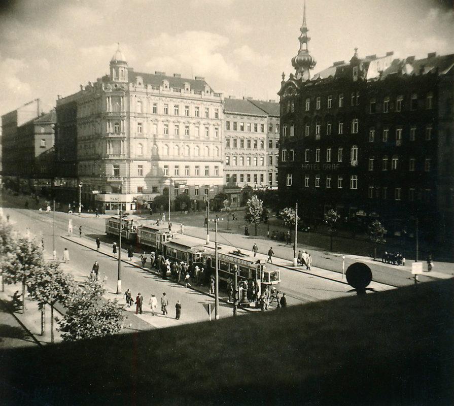 Náměstí I. P. Pavlova, 1941