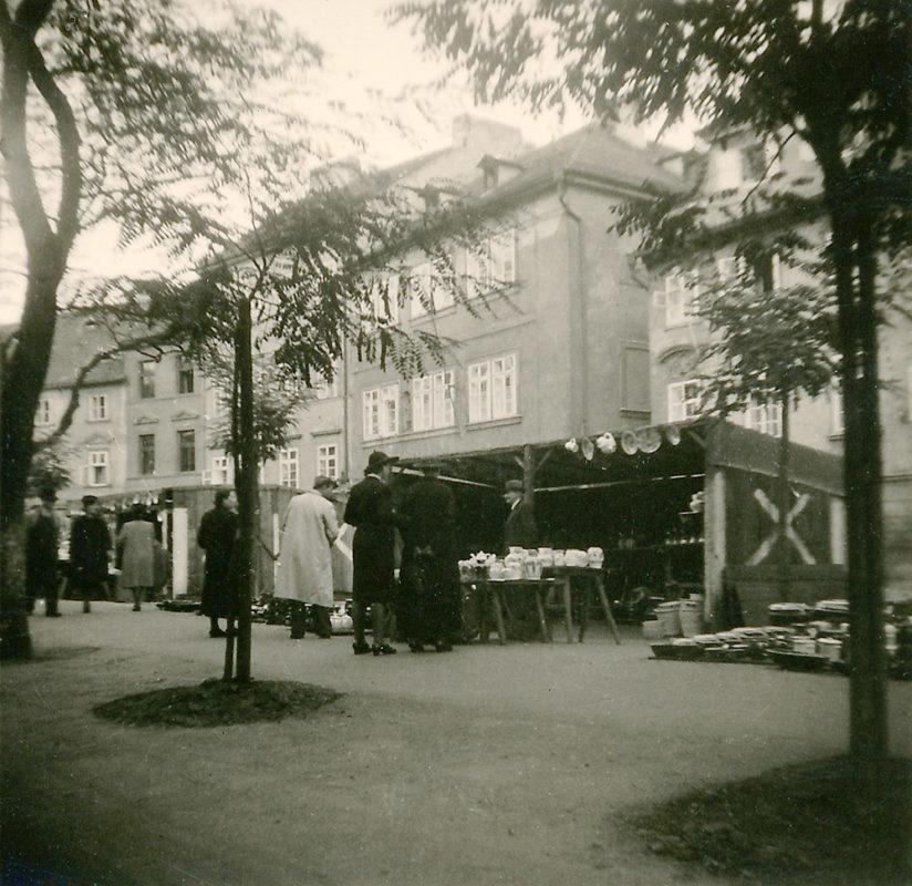 Hrnčířský trh, Kampa, 1941