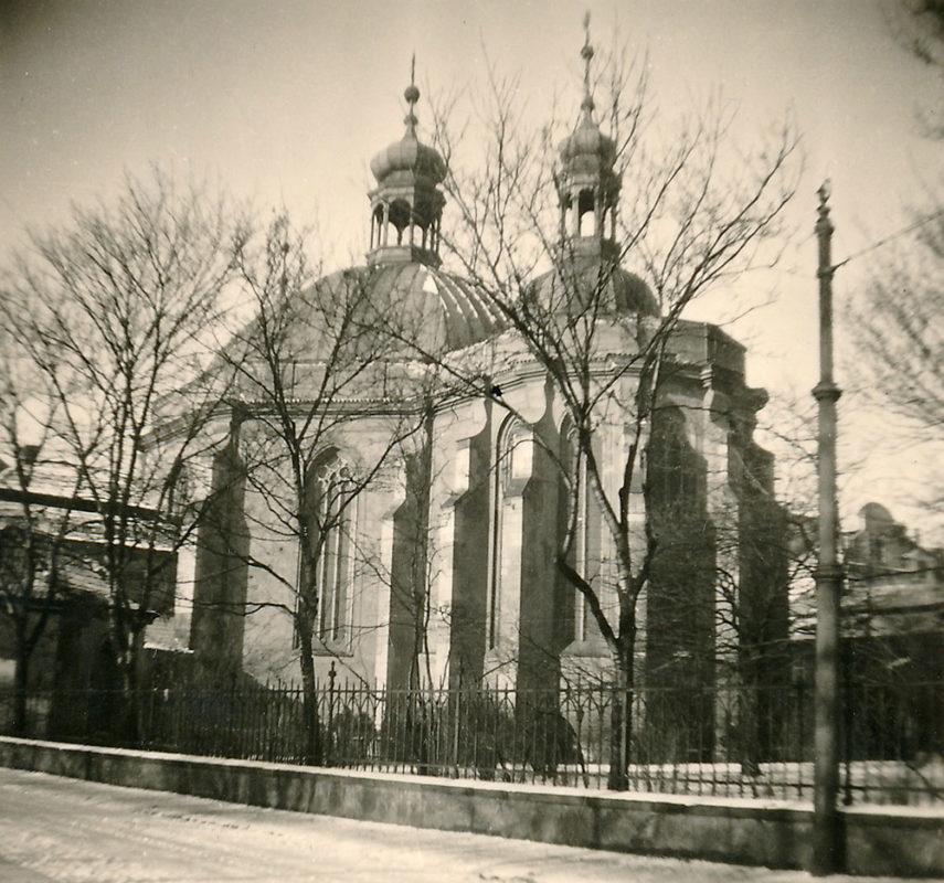 Kostel Nanebevzetí Panny Marie a sv. Karla Velikého na Karlově, 1941