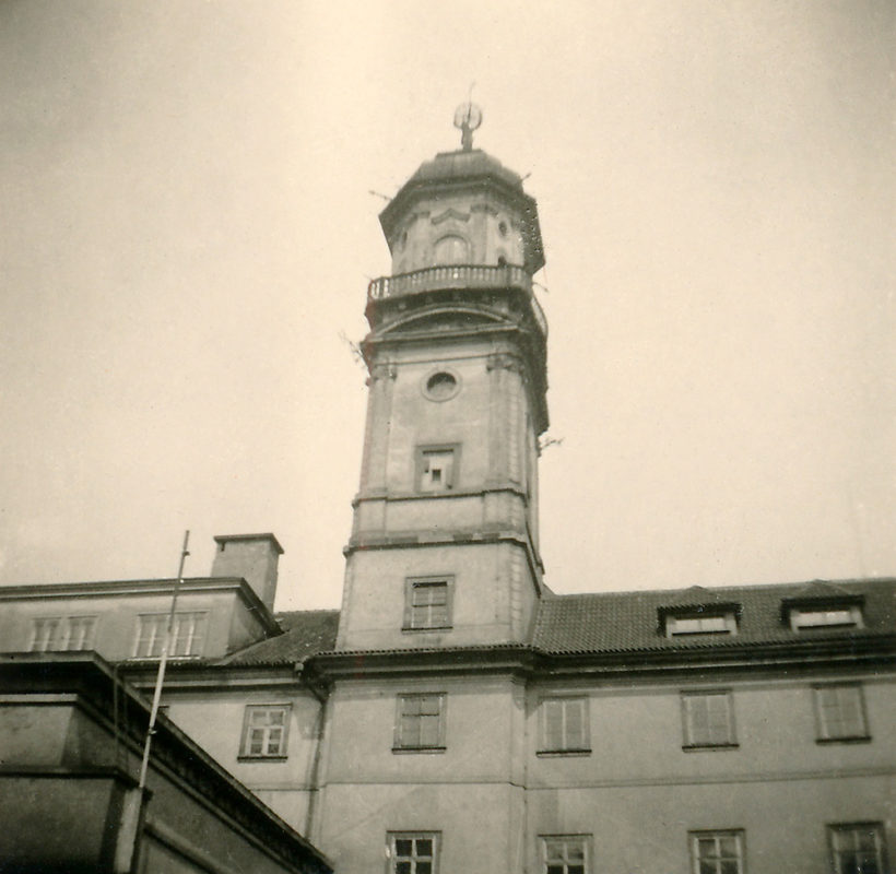 Astronomická věž Klementina, 1941