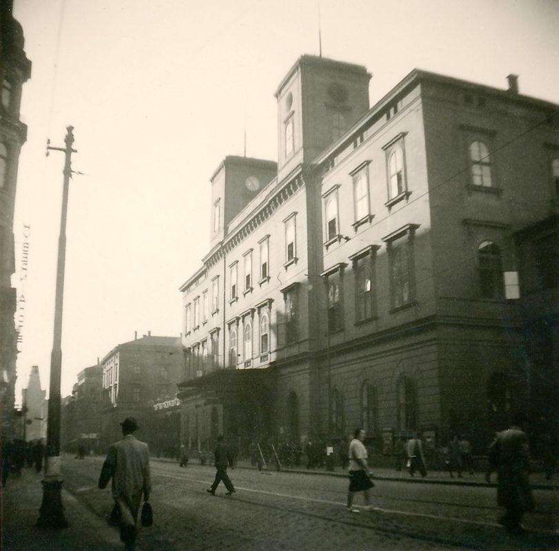Masarykovo nádraží, 1941