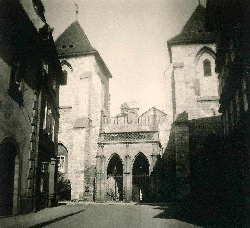 Kostel Panny Marie pod řetězem, Malá Strana, 1941
