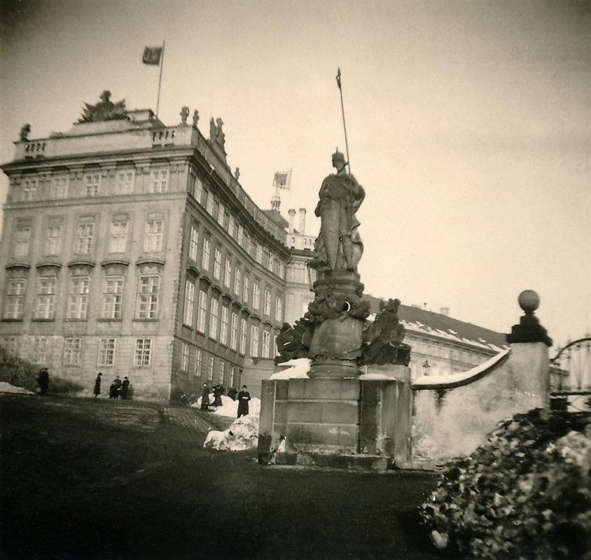 Pražský hrad, 1941