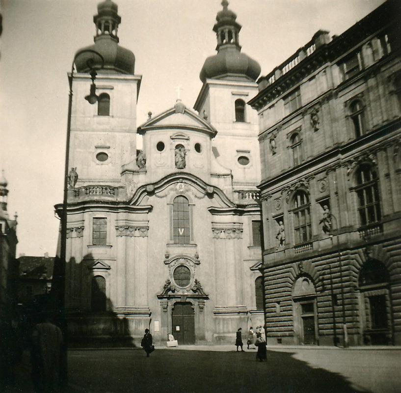 Kostel sv. Havla, Staré Město, 1941
