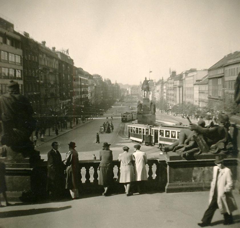 Václavské náměstí, 1941