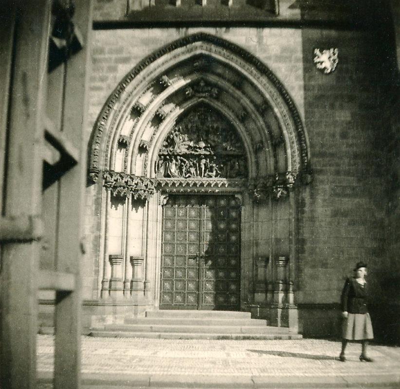 Kapitulní bazilika sv. Petra a Pavla, Vyšehrad, 1941