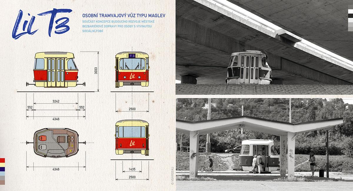 Zkrácená tramvaj Lil' T3