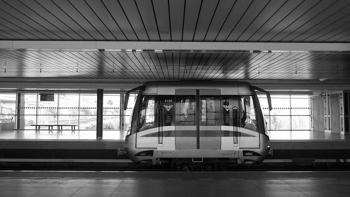 Zkrácený vůz pražského metra
