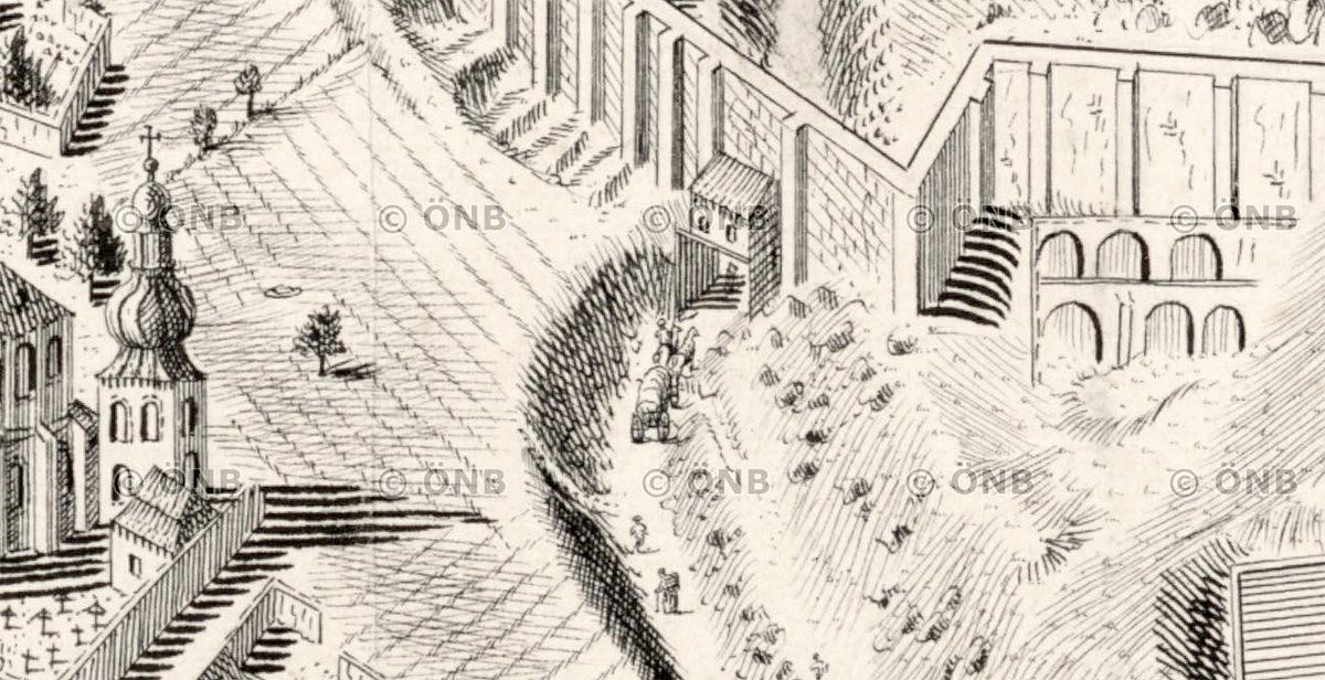 Bývalá Jeruzalémská brána na Vyšehradě