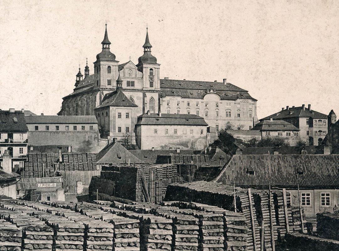 Emauzský klášter, Emauzy – Barokní podoba