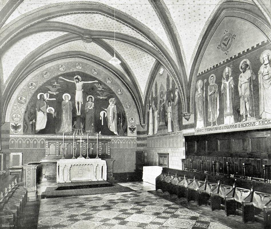 Emauzský klášter, Emauzy – Císařská kaple