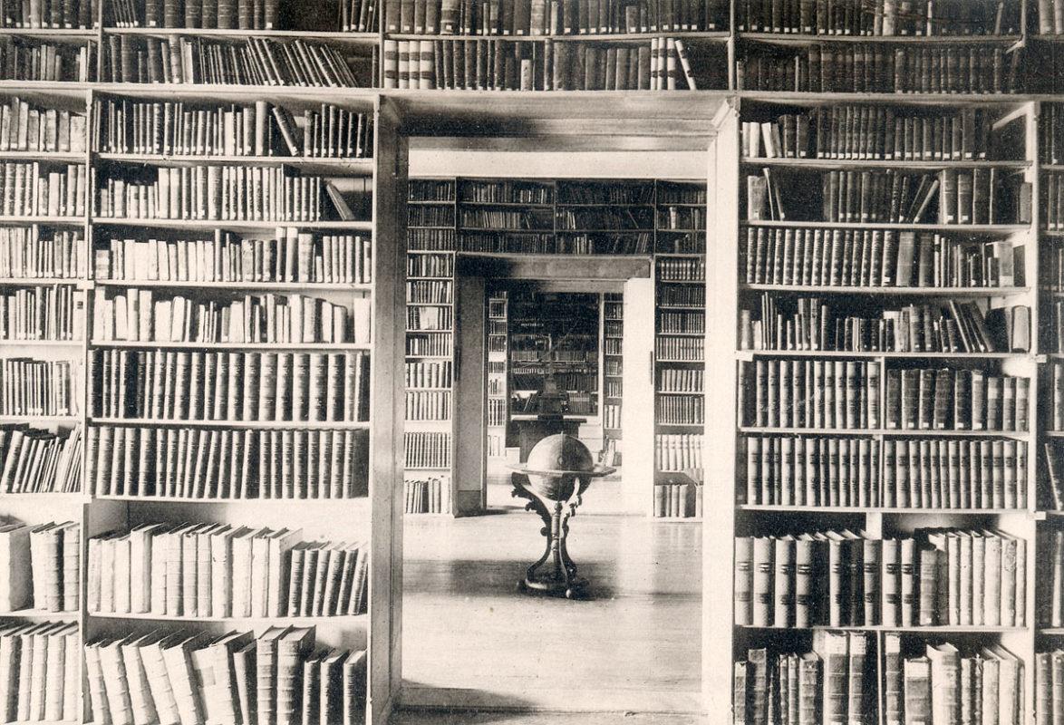 Emauzský klášter, Emauzy – Knihovna