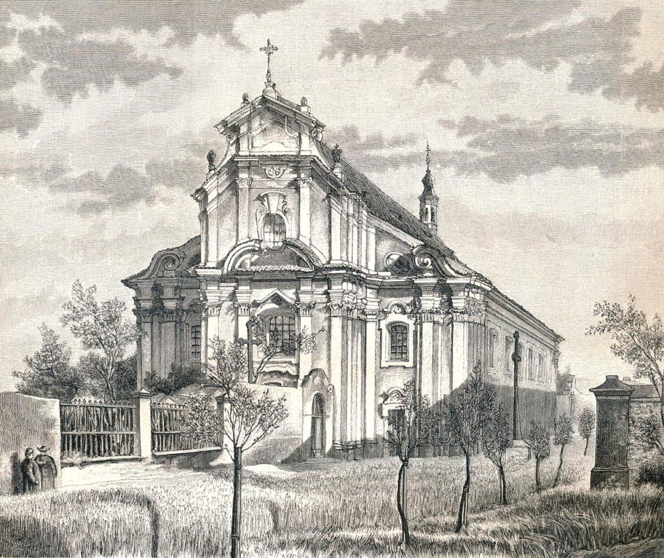 Barokní podoba baziliky sv. Petra a Pavla na Vyšehradě