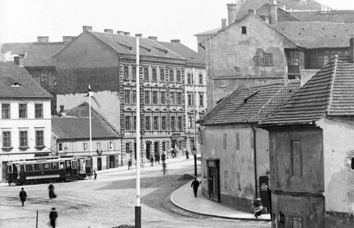 Řeznický domek Josefa Pohana ve Vratislavově ulici