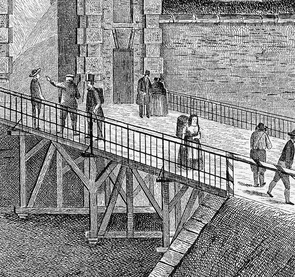 Vyšehradské mosty padací i spadlé