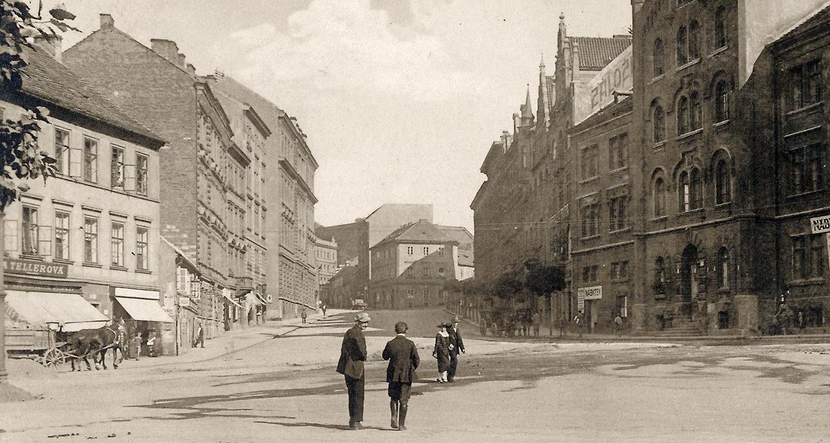Vratislavova ulice na Vyšehradě