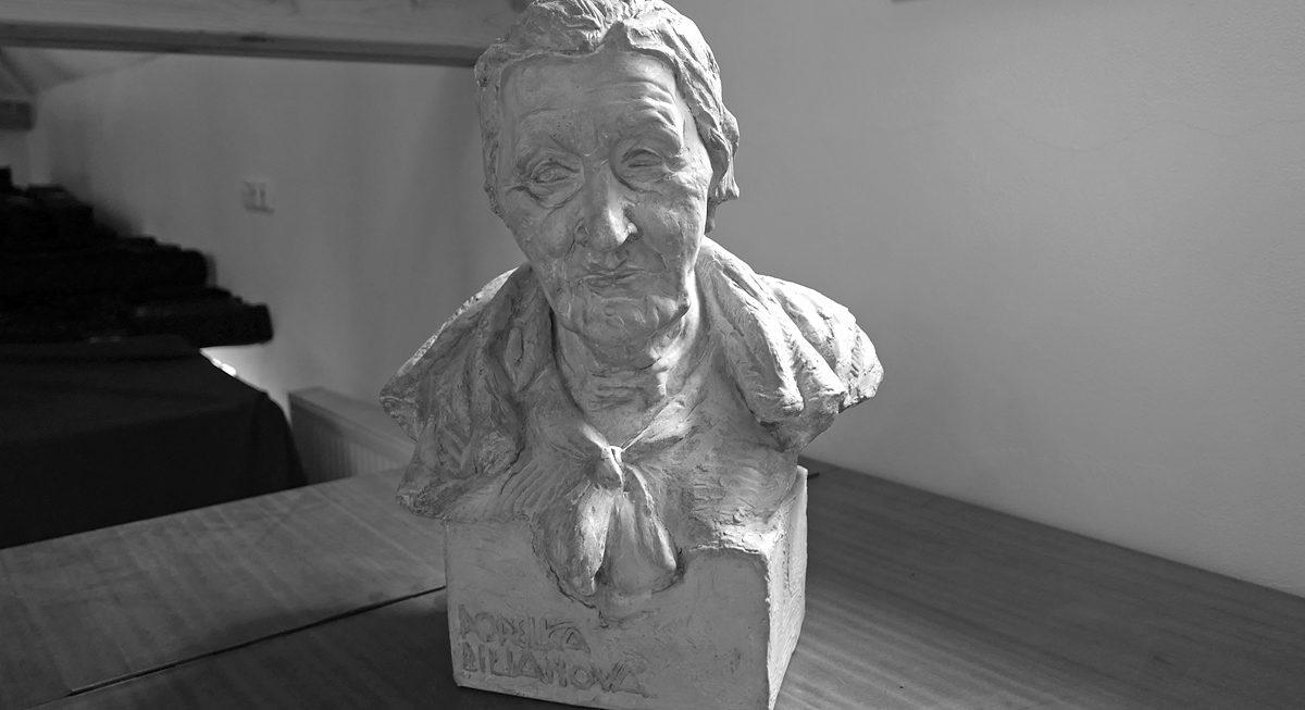 Popelka Biliánová - busta ve vyšehradském archivu