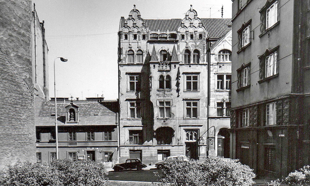 Dům vystavěný Františkem Hodkem – Vratislavova 67