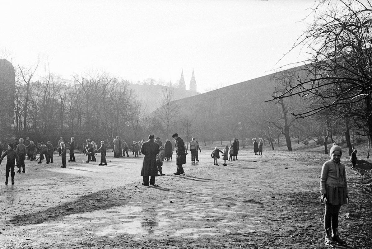 Kluziště na Folimance, 1961 – Jan Bajer