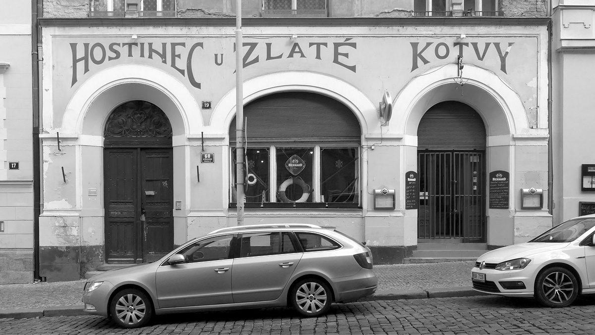 U Zlaté kotvy ve Vratislavově ulici