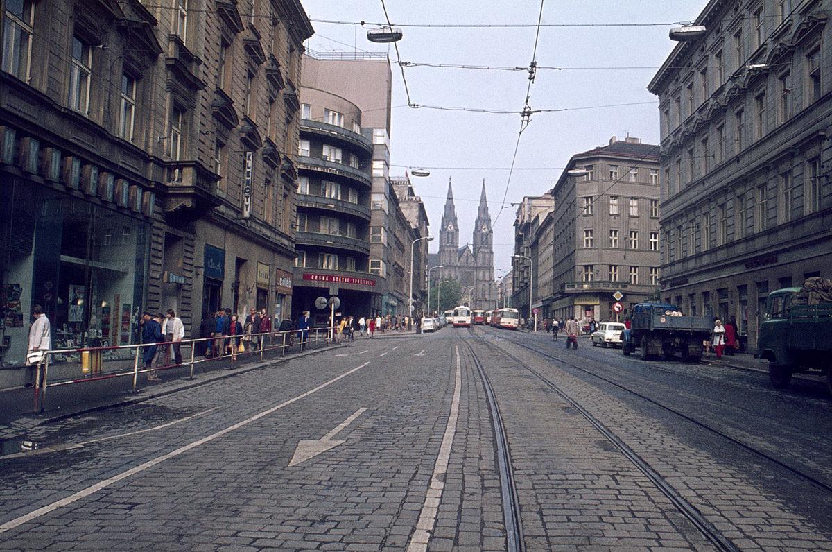 Jugoslávská ulice, 1975