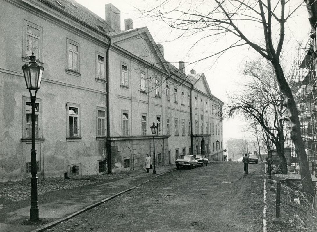 Stará porodnice v Apolinářské ulici, záchytka