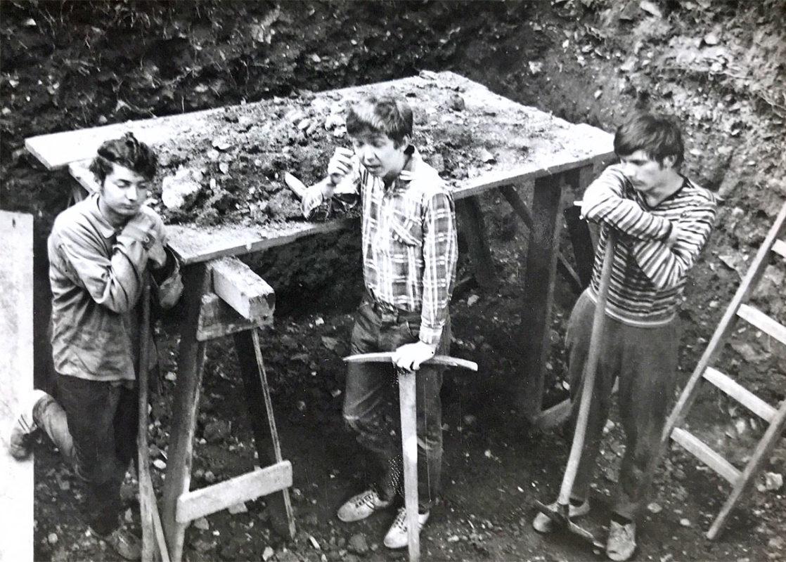 Vykopávky v Karlachových sadech, 1969