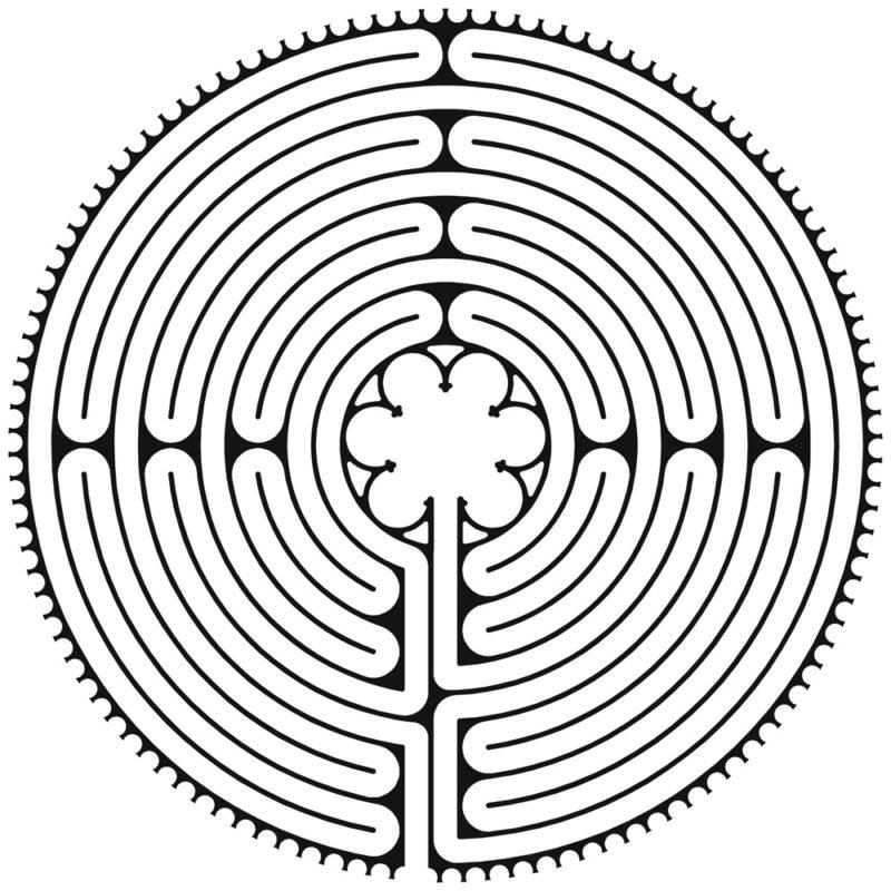 Labyrint v Chartres