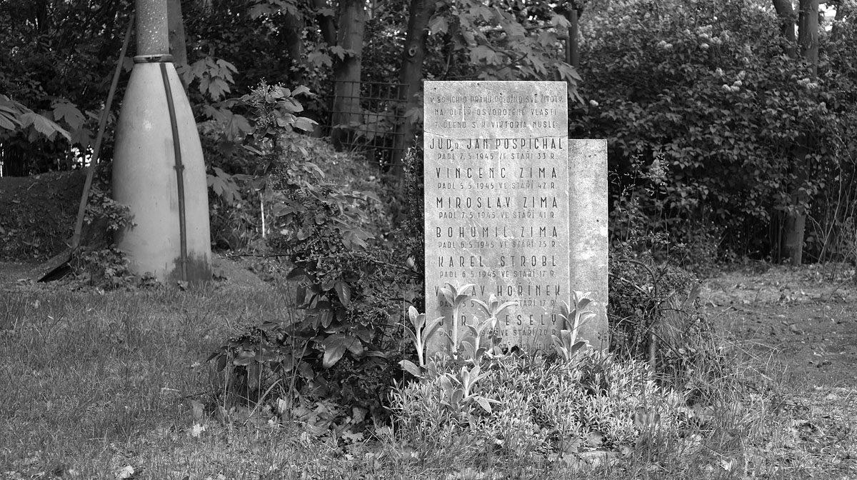 Pankrác, pomníček Pražského povstání