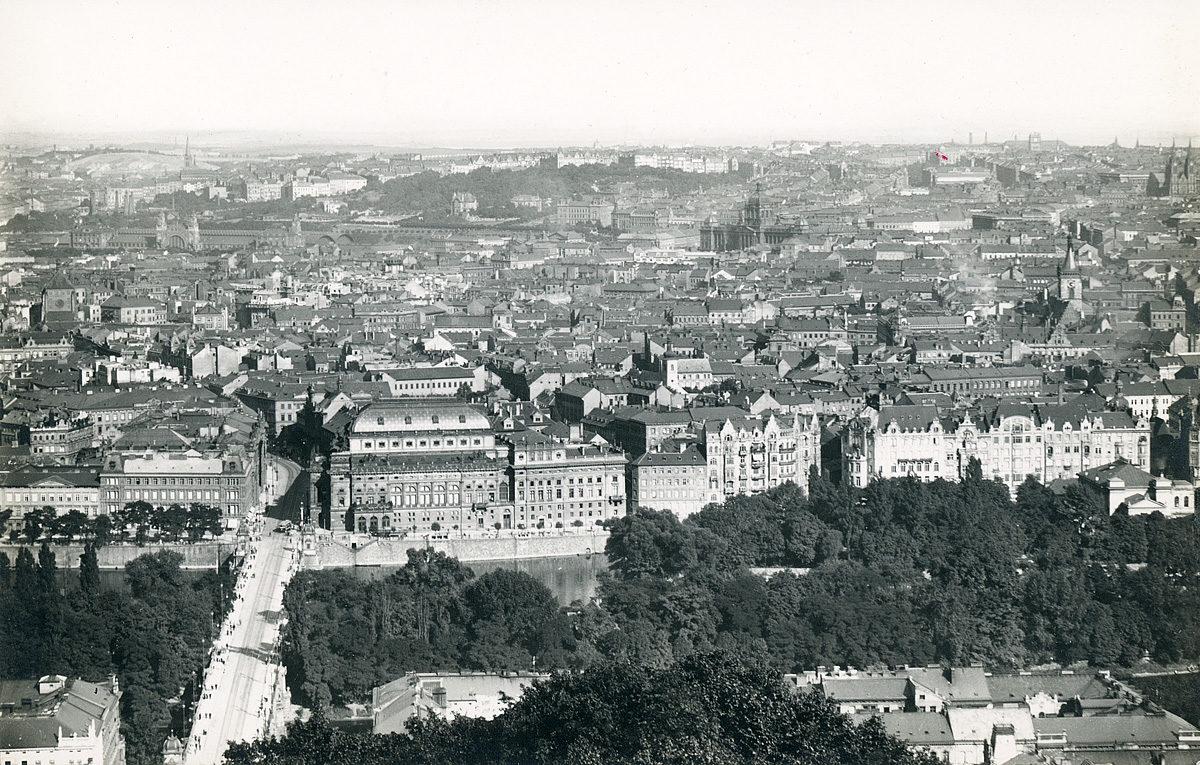 Panorama Prahy 5