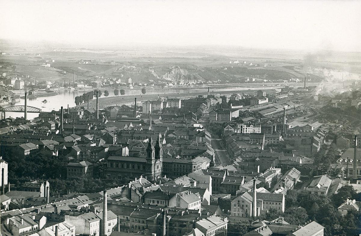 Panorama Prahy 8