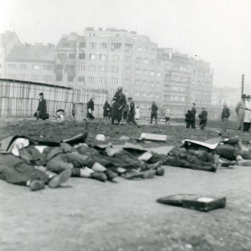 Pražské povstání, Pankrác