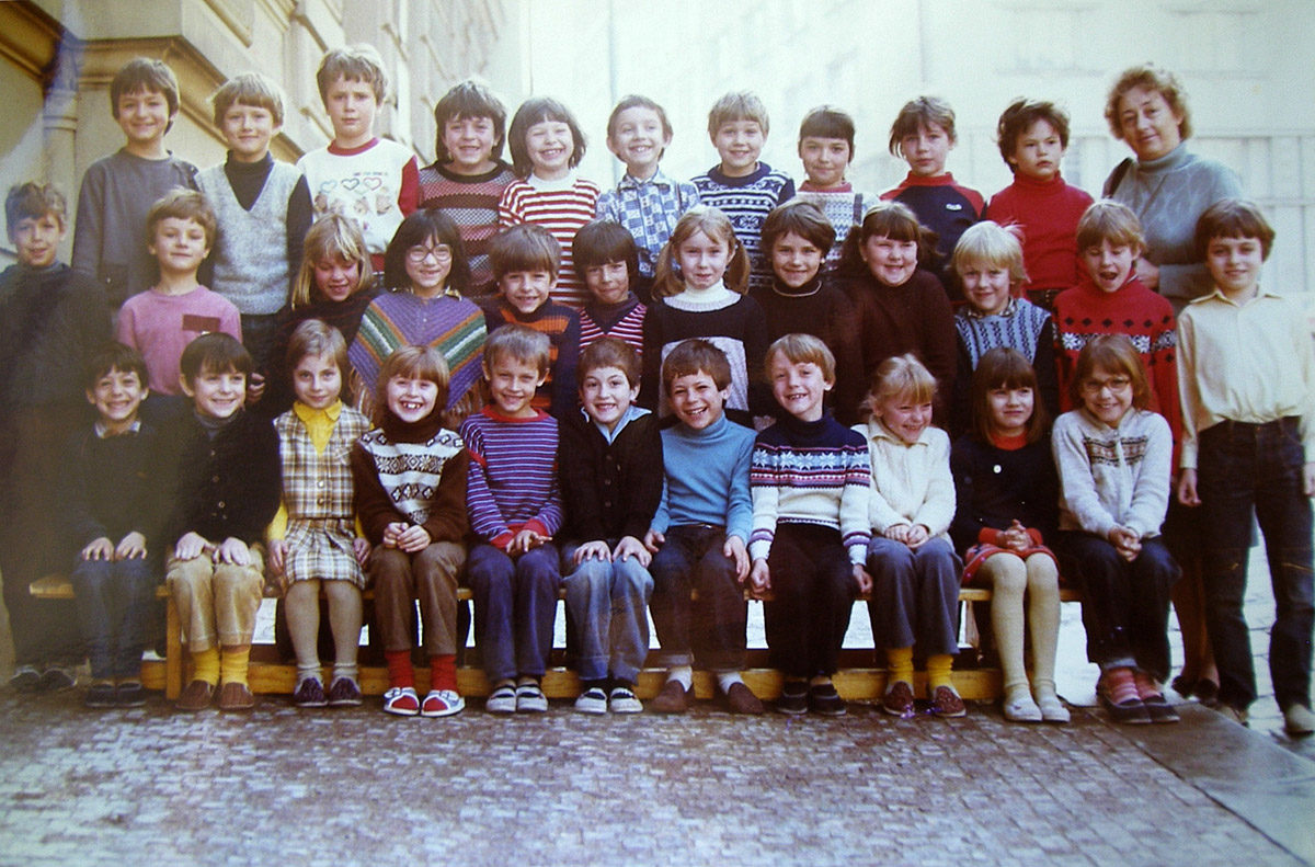 Vyšehrad, ZŠ Vratislavova, 1984