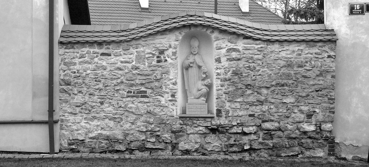 Socha sv. Prokopa na Vyšehradě