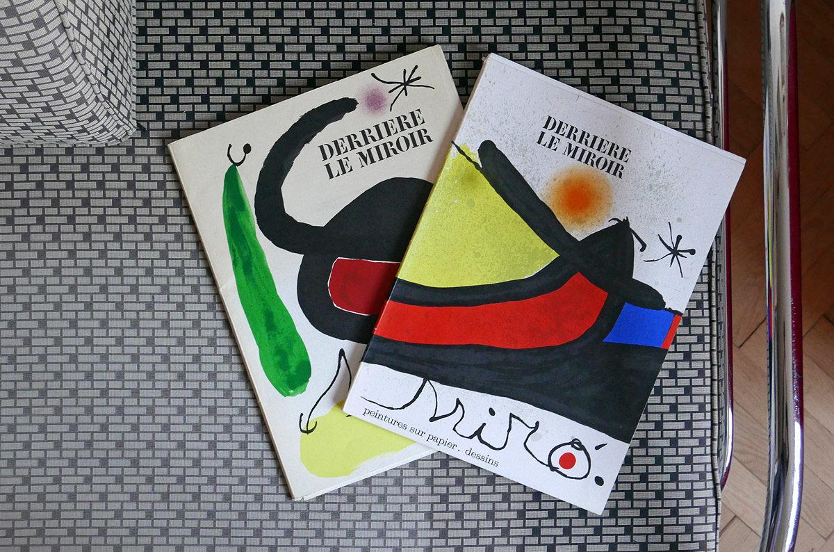 Jaroslav Borovička – Derrière le Miroir – Joan Miró