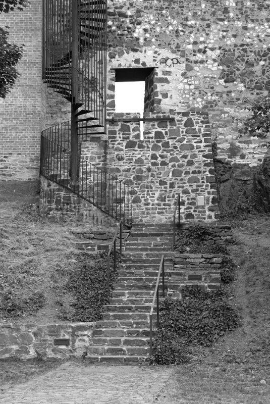 Novoměstská hradba, průchod